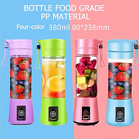 Portable blender usb mixer electric juicer machine smoothie blender mini food processor personal blender cup juice blenders