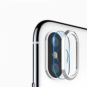 Kính Cường Lực Và Vành Bảo Vệ Camera IPhone XS MAX - TITAN CP01 - Hàng Chính Hãng
