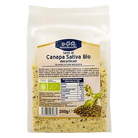 Hạt gai dầu hữu cơ tách vỏ Sottolestelle 250g Organic Hemp Seeds