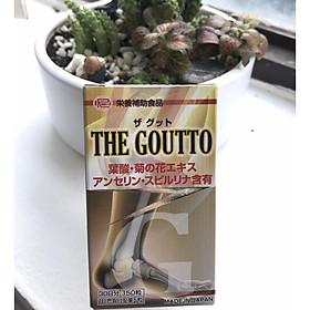 THE GOUTTO Nhật Bản - Thần Dược Hỗ Trợ Điều Trị Bệnh Gout (1 lọ 150 viên - 330mg/viên)