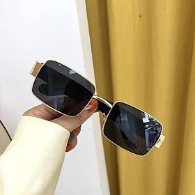 Kính xinh, Kính râm, Kính mát Mắt vuông phong cách ulzzang cao cấp cho Nữ + tặng tuavit Kính Xinh mini