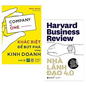 Combo Sách Kinh Tế Được Ưa Chuộng Nhất Năm: Khác Biệt Để Bứt Phá Trong Kinh Doanh +  Nhà Lãnh Đạo 4.0 (Bộ 2 Cuốn Bí Kíp Làm Việc Mang Lại Hiệu Qủa Tối Đa / Tặng Kèm Bookmark Happy Life)