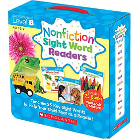 Nonfiction Sight Word Readers: Guided Reading Level B (Parent Pack)