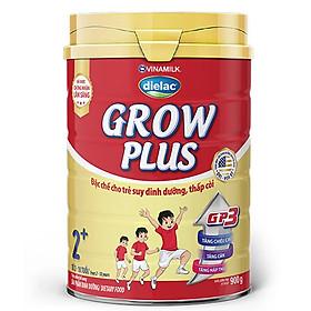 Thùng 12 Hộp Thiếc Sữa Bột Vinamilk Dielac Grow Plus 2+ Đỏ (12 x 900g)