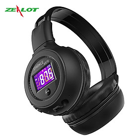 Tai nghe chụp tai bluetooth Zealot headphone kết nối không dây hàng chính hãng