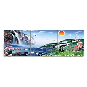 Tranh Treo Tường Hiện Đại Phòng Khách - Sơn Thủy  T3M--1334