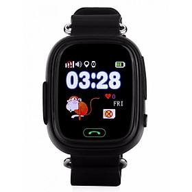 Đồng hồ định vị GPS Wonlex GW100 (Đen) - Hàng Chính Hãng