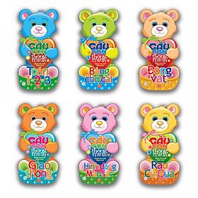 Bộ Gấu Con Thông Minh - Dành Cho Trẻ Mầm Non (6 Cuốn)