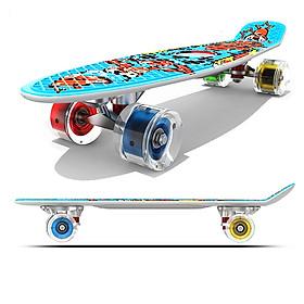 Ván Trượt Skateboard Penny Có Đèn Led -  4 Tùy Chọn Màu