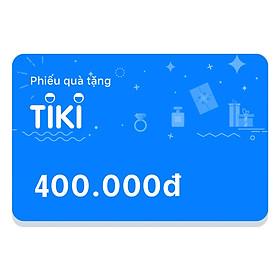Phiếu Quà Tặng Tiki 400.000đ
