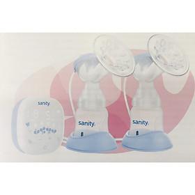 Máy hút sữa điện đôi 2 bình Sanity S6306.ENG có pin sạc- chính hãng Đức