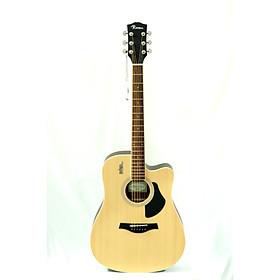 Đàn Guitar Acoustic Rosen G13NA Mầu Vàng Gỗ Tự Nhiên ( Solid Top) Chất Lượng Tốt