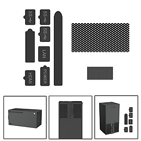 Dust Plug Silicone Dust Proof Cover Dustproof Case Kits for Xbox Series X Console Accessories