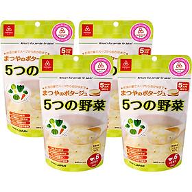 Combo 4 Gói Cháo Gạo Koshihikari Ăn Dặm Matsuya Nhiều Vị