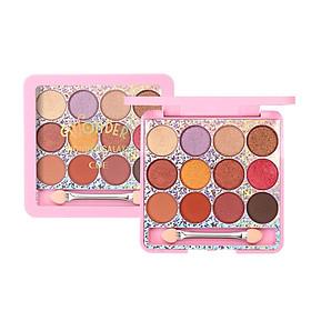 12 Colors Glitter Eyeshadow Palette Long-lasting Smudge-proof Waterproof Shimmer Matte Eye Shadow