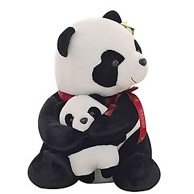 Hình đại diện sản phẩm Gấu bông gấu trúc ôm con