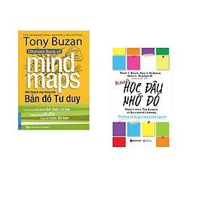 Combo 2 cuốn sách: Tony Buzan - Nền Tảng & Ứng Dụng Của Bản Đồ Tư Duy + Bí Quyết Học Đâu Nhớ Đó