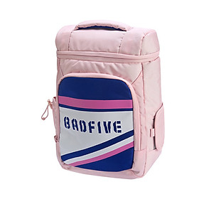 Li Ning official flagship store children's backpack boys and girls big children basketball series youth large capacity leisure backpack YBSP008-2 pink purple white 000