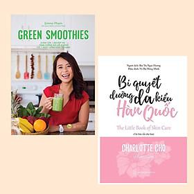 Combo Sách Làm Đẹp Đặc Biệt Dành Cho Phái Nữ: Green Smoothies - Giảm Cân, Làm Đẹp Da, Tăng Cường Sức Đề Kháng Với 7 Ngày Uống Sinh Tố Xanh + Bí Quyết Dưỡng Da Kiểu Hàn Quốc (Tái Bản) / Giảm Mỡ Bụng - Làm Đẹp Da - Thanh Lọc Cơ Thể