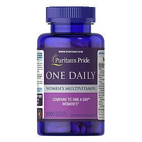 Thực phẩm Vitamin tổng hợp nữ One Daily Women's Multivitamin Puritan's Pride