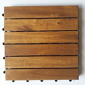 Ván sàn gỗ vỉ nhựa