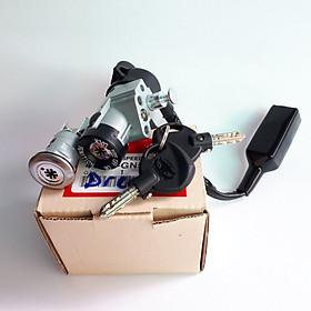 Khóa xe máy Dream  8 cạnh