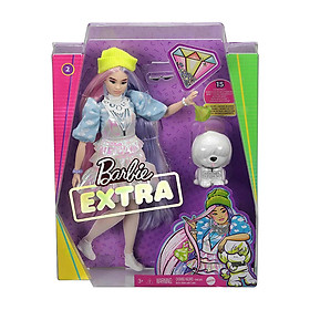 Đồ Chơi  BARBIE Búp Bê Barbie Extra Beanie GVR05/GRN27