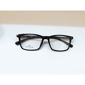 G�ng kính nhựa  dẻo unisex dáng mắt vuông, đơn giản, Tr90-0100