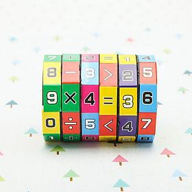 Đồ Chơi Rubik Toán Học Cho Bé