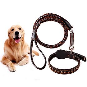 Fantasy bubble dog chain dog rope large dog dog pet leash dog chain small dog leash dog collar huskies golden dog chain pet dog supplies M
