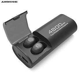 Tai nghe chơi game, nghe nhạc  Anncoe AS22 KIÊM PIN SẠC DỰ PHÒNG dung lượng cao 480 mAh, kết nối Bluetooth 5.0, kiêm Giá đỡ điện thoại - Hàng chính hãng