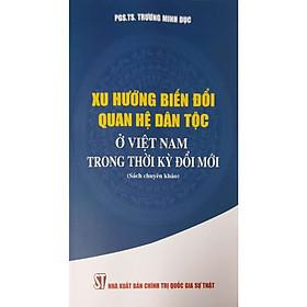 Xu Hướng Biến Đổi Quan Hệ Dân Tộc Ở Việt Nam Trong Thời Kỳ Đổi Mới (Sách chuyên khảo)