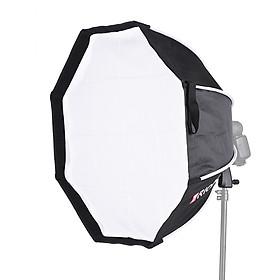 Bộ Đèn Softbox Hình Bát Giác Tay Cầm Bằng Vải Mềm Có Thể Gập Lại TRIOPO (65 cm)