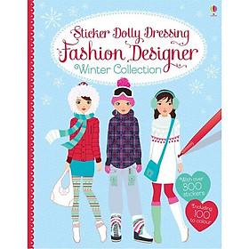 Usborne Sticker Dolly Dressing Fashion Designer Winter Collection