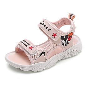 Dép sandal Bé Gái Từ 3 – 10 Tuổi Màu Hồng Dễ Thương MSP 9005