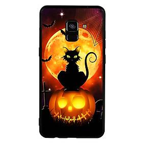 Hình đại diện sản phẩm Ốp lưng Halloween viền TPU cho điện thoại Samsung Galaxy A8 2018 - Mẫu 05
