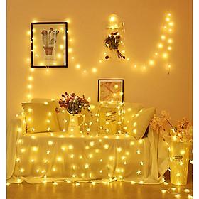 Đèn Led Trang Trí Dài 10M - 80 Bóng Trang Trí Noel Lễ Tết