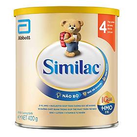 Sữa Bột Cho Bé Similac Eye-Q 4 HMO 400g Gold Label