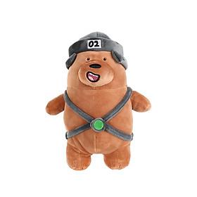 Thú bông Miniso gấu nâu 145g - Hàng chính hãng