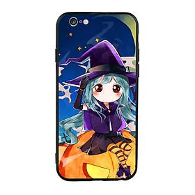 Hình đại diện sản phẩm Ốp lưng Halloween viền TPU cho điện thoại Iphone 6 Plus/6s Plus - Mẫu 04