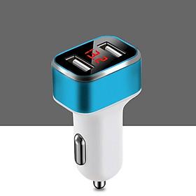 Tẩu chuyển USB, sạc điện thoại thông minh trên ô tô - màu ngẫu nhiên