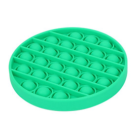 Pop Bubble Fidget Sensory Toy Pure Compression Silicone Push Pop Bubble Sensory Toy - Stress Reliever Toy to Alleviate