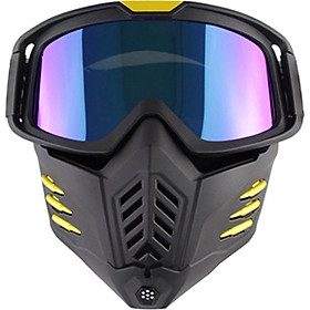 Fun Motorcycle Mask Men Women Ski Snowboard Goggles Winter Off-road Riding Glasses