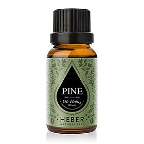 Tinh Dầu Gỗ Thông Pine Essential Oil Heber Natural Life | 100% Thiên Nhiên Nguyên Chất Cao Cấp