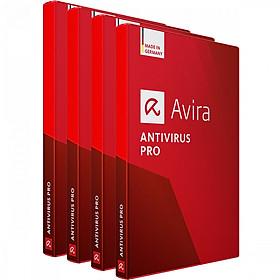Combo 4 Phần Mềm Diệt Virus Avira Antivirus Pro