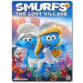 Tranh Xếp Hình A4 30 Mảnh - Smurfs - The Lost Village 030-155
