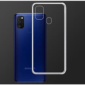 Ốp Lưng Điện Thoại Samsung Galaxy M21 - 01300 - Ốp dẻo trong - Hàng Chính Hãng