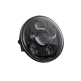 5.75 inch LED Headlight Motorcycle Projector Headlamp Super Wide Angle Driving Light