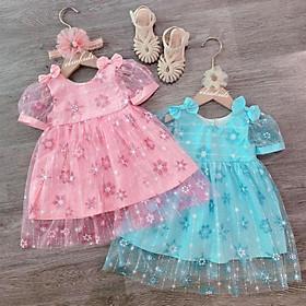váy công chúa cho bé  diện  trung thu tết