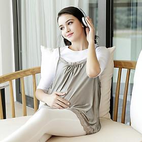 Váy Dệt Sợi Bạc Chống Tia Bức Xạ Cho Người Mang Thai DUO YA N020